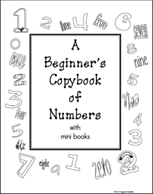a beginners copybook of numbers