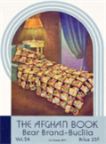 the afghan book - crochet pattern ebook