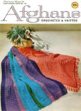 afghans crocheted and knitted - crochet pattern ebook