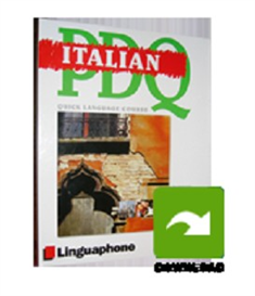 linguaphone pdq mp3 italian course