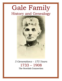 Gale Family History and Genealogy | eBooks | History