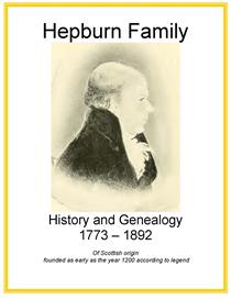 Hepburn Family History and Genealogy | eBooks | History