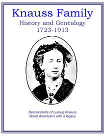 Knauss Family History and Genealogy | eBooks | History