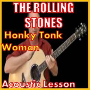 learn honky tonk woman by the rolling stones