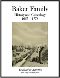 baker family history and genealogy