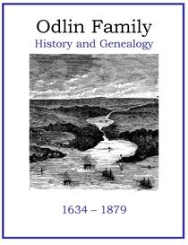 Odlin Family History and Genealogy   eBooks   History