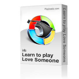 Learn to play Love Someone Like Me by New Grass Revival | Movies and Videos | Educational