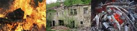 la casa quemada