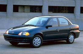 1997 geo metro sedan mvma specifications