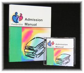 admissions manual