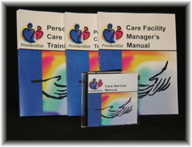 care services bundle, set of 3
