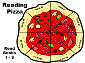 reading pizza (8 general books) incentive chart