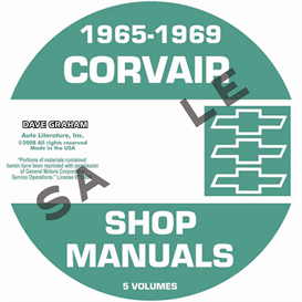 1965-1969 Corvair Shop Manuals | eBooks | Automotive