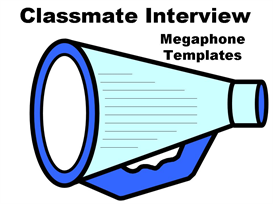 classmate interview megaphone set