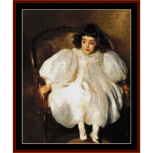 expectancy - sargent cross stitch pattern by cross stitch collectibles