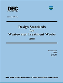 1988 nys dec design standards for wastewater treatment works - intermediate sized sewerage facilities