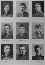 edinburgh univsity roll of honour 1914-1919 plate 25