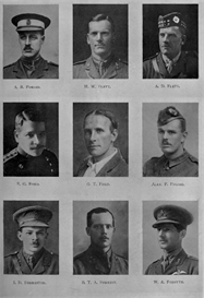 edinburgh university roll of honour 1914-1919 plate 26