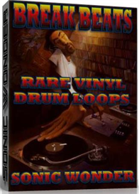 break beats - rare vinyl drum loops
