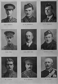 edinburgh university roll of honour 1914-1919 plate 29