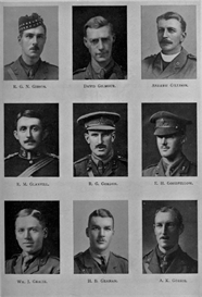 edinburgh university roll of honour 1914-1919 plate 30