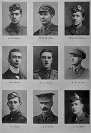 edinburgh university roll of honour 1914-1919 plate 31