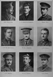 edinburgh university roll of honour 1914-1919 plate 33