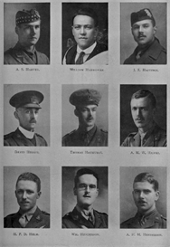 edinburgh university roll of honour 1914-1919 plate 34