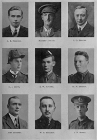 edinburgh university roll of honour 1914-1919 plate 36