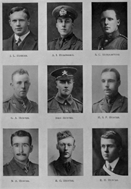 edinburgh university roll of honour 1914-1919 plate 37
