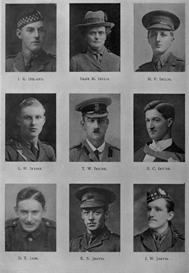 edinburgh university roll of honour 1914-1919 plate 39