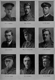 edinburgh university roll of honour 1914-1919 plate 44