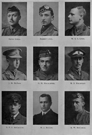 edinburgh university roll of honour 1914-1919 plate 46