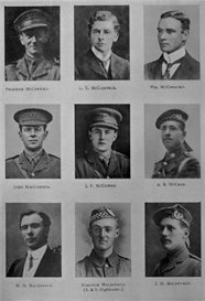 edinburgh university roll of honour 1914-1919 plate 47