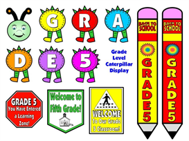 Grade Level (1-8) Back To School Pack | Other Files | Documents and Forms