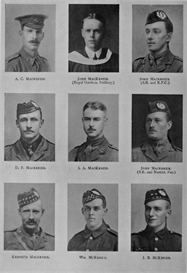 Edinburgh University Roll Of Honour 1914-1919 Plate 51 | Other Files | Photography and Images