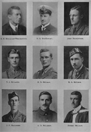edinburgh university roll of honour 1914-1919 plate 52