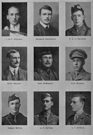 edinburgh university roll of honour 1914-1919 plate 53