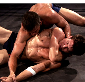 0306-shawn lawson two match wrestling video