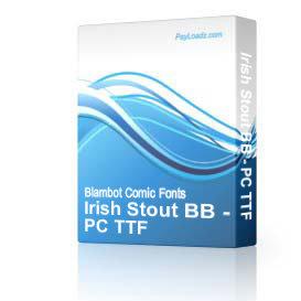 Irish Stout BB - TTF | Software | Design