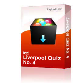 liverpool quiz no. 4