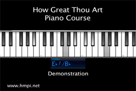 how great thou art video and midi piano course download