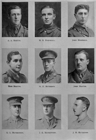 edinburgh university roll of honour 1914-1919  plate 56