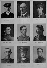 edinburgh university roll of honour 1914-1919 plate 58