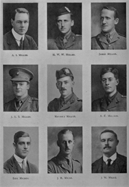 edinburgh university roll of honour 1914-1919 plate 59