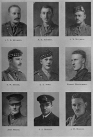 edinburgh university roll of honour 1914-1919 plate 60