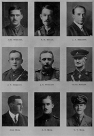 Edinburgh University Roll Of Honour 1914-1919 Plate 61 | Other Files | Photography and Images