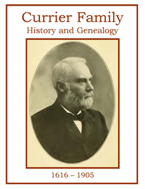 currier family history and genealogy