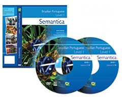 semantica brazilian portuguese video course, lessons 1-12