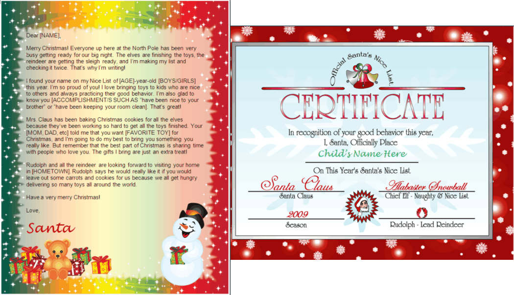A Letter From Santa Free Download